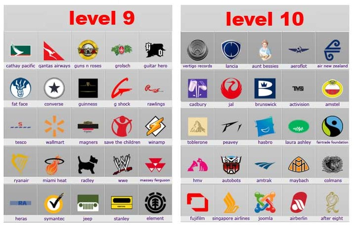Logos Quiz Lösungen (Logos Quiz Answers) – Alle Marken für alle ...